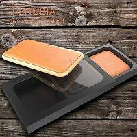 Opulent Apple iPhone 7 / 8 Plus Genuine Leather Case + Tempered Screen Protector