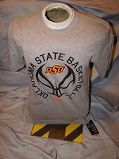NWT UNDER ARMOUR OKLAHOMA STATE COWBOYS BASKETBALL NCAA TOURNAMENT SHIRT MEDIUM