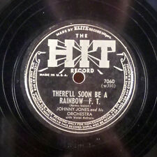 Little Johnny Jones Time Stands Still / There'll Soon be a Rainbow 78 Hit E-