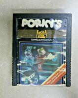 Porky's Atari 2600 20th Century Fox 1983 Video Game Cartridge Vintage