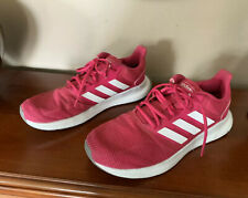 Women's ADIDAS Athletic Sneakers Shoes Pink & White Size 9.5
