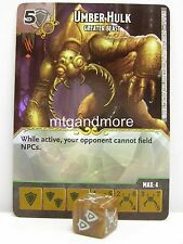 Dice Masters - #089 Umber Hulk - Greater Beast - Battle for Faerun