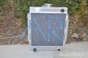 Brand New Full Aluminum Radiator for Datsun 1200 1.2L Manual MT 3 Cores