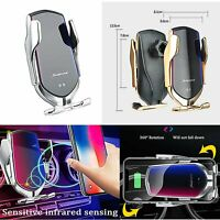 Phone Bracket Car Air Vent Mount Clip Wireless Charger Holder for Benz GLA CLA