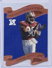 1997 Pro Line Perennial All-Pro DC cards Jerry Rice Emmitt Smith Sanders Davis