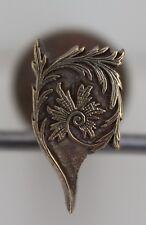 Très beau Fer à Dorer Fleuron modèle XVIIIe s Bronze Reliure Doreur Relieur #53