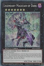 YU-GI-OH CARD: LEGENDARY MAGICIAN OF DARK - PRISMATIC SECRET - WSUP-EN052 1st ED