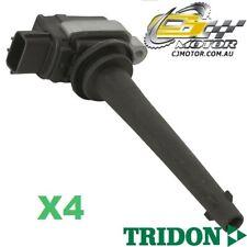 TRIDON IGNITION COIL x4 FOR Nissan TIIDA 02/06-06/10, 4, 1.8L MR18DE