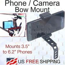 Smartphone Camera Bow Phone Mount Compound Bow Hunt Record iPhone Samsung GoPro