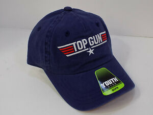TOP GUN Snapback YOUTH Hat. BRAND NEW TOM CRUISE MOVIE BIOWORLD PARAMOUNT