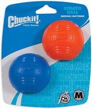Chuckit! Strato Ball (2 Pack), Medium  - Garden Dog Garden Games Fun Outdoor