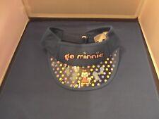 Disney Anime Go Minnie Mouse Adjustable Youth Visor Cap Hat Birthday Gift New