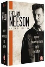 The Liam Neeson Film Collection DVD  pal Rob Roy taken kingdom of heaven A team