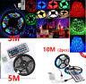 10M/5M/3M RGB 3528 300Led SMD Tira de luz Flexible Lamp+44 key IR Remoto Control