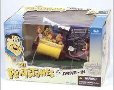 MCFARLANE HANNA BARBERA FRED FLINTSTONES DELUXE ACTION FIGURE AT THE DRIVE-IN