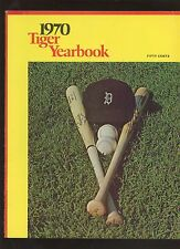 1970 Detroit Tigers MLB Baseball Yearbook EXMT