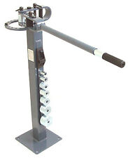 "Pedestal Floor Tube Pipe BENDER Bending Metal Fabrication Manual 1"" to 3"" Dies"