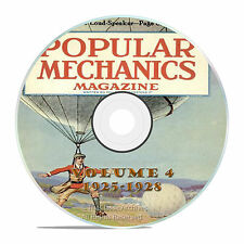 Vintage Popular Mechanics Magazine, Volume 4 DVD, 1925-1928, 46 issues, V14