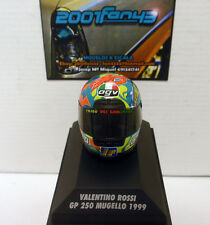 Casco Helmet Rossi 250cc Mugello 1999 1/8 Minichamps