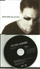 BRYAN ADAMS & MELANIE C When you're Gone UK made PROMO CD single Mel SPICE GIRLS