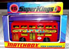 MATCHBOX SUPERKINGS K15 THE LONDONER BUS ENGLAND1973