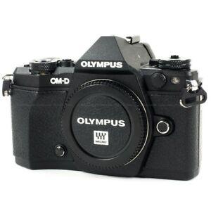 Olympus OM-D E-M5 Mark II Digital Camera - Black (Body Only) MK2