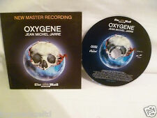 OXYGENE CD JEAN MICHEL JARRE PROMO - New Master Recording FREE UK POST!!