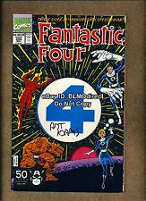 1991 Fantastic Four #358 Signed by Art Adams w/CoA 1st App & Origin Paibok