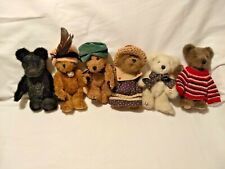 Boyds Bears - Lot of 6 w/Tags -Free Shipping!