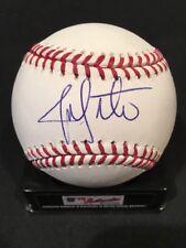 Jon Lester 2016 World Series Cubs Signed Wrigley Field Logo Baseball BAS Beckett