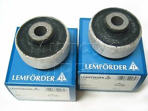 Pair of Wishbone Bushes - Lemforder OEM - for VW Golf Mk4 R32, Audi TT & S3