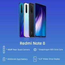 Xiaomi Redmi Note 8 4GB 64GB Snapdragon 48MP Quad Smartphone 665 Global ROM