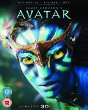 AVATAR 3D Blu-Ray DISC ONLY REGION FREE ABC DISC AND ARTWORK ONLY EXCELLENT COND