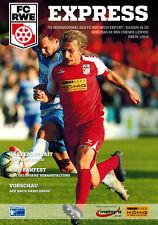 FC Rot - Weiß - Erfurt  - BSG Chemie Leipzig  2019/2020