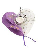 Herz - Windlicht CREApop-Folie Dekoration Deko Hochzeit Silberhochzeit