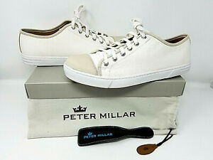 Peter Millar Canvas Casual Men's Casual Shoes MS18F16  *Rare* -> FAST Shipping!