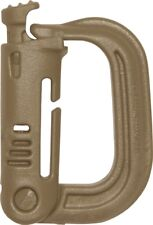 Maxpedition Grimloc D-Rings Carabiner / single piece (1) USA made  KHAKI