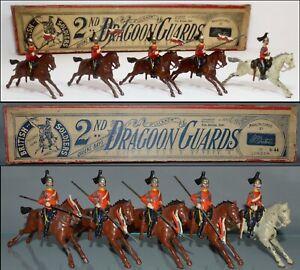 Britains Pre-War Set #44 2nd Dragoon Guards Queen  **AA-12443**