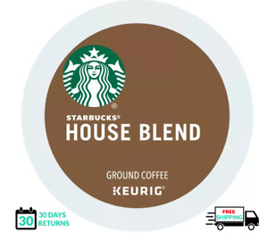 Starbucks House Blend Keurig Coffee K-cups YOU PICK THE SIZE