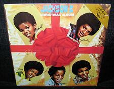JACKSON 5 Christmas Album (Reissued 1980's U.S. 11 Track Saw-Cut Promo LP)