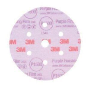 3M 30668 Purple Finishing Film Disc, 1200 Grit (15ct.)