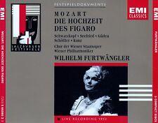 MOZART : DIE HOCHZEIT DES FIGARO - WP, FURTWÄNGLER / 3 CD-SET - TOP-ZUSTAND