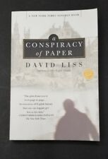 Readers Circle: A Conspiracy of Paper by David Liss (2001, Paperback)
