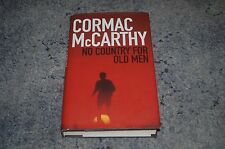 CORMAC McCARTHY NO COUNTRY FOR OLD MEN 1ST EDITION 3RD PRINT HARDBACK BOOK FIRST