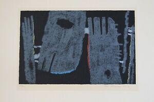 Ackermann Max, Farbserigrafie handsigniert,numm. datiert  /100-Komposition .1961