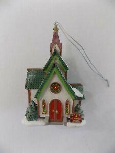 Department 56 St Nicholas Chapel Ornament North Pole Silver Series #1 of 3 NOS