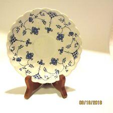 Finlandia Myott Staffordshire Teacup Saucer Plate Blue White
