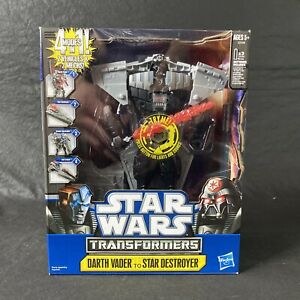 Transformers Star Wars Crossovers ~ Darth Vader Star Destroyer Anakin Skywalker