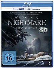 Nightmare 3D [2017] (Blu-ray 3D + 2D)~~~~~Maggie Q~~~~~NEW & SEALED