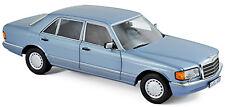 Mercedes-Benz 560 SEL 6.9 W126 - 1985-91 pearl-blue blau metallic 1:18 Norev